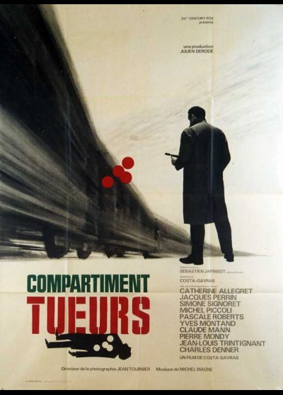 COMPARTIMENT TUEURS movie poster