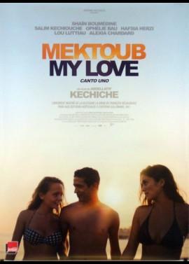 affiche du film MEKTOUB MY LOVE CANTO UNO