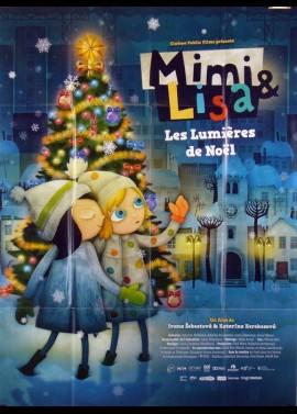 affiche du film MIMI ET LISA LES LUMIERES DE NOEL