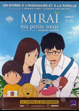 affiche du film MIRAI MA PETITE SOEUR