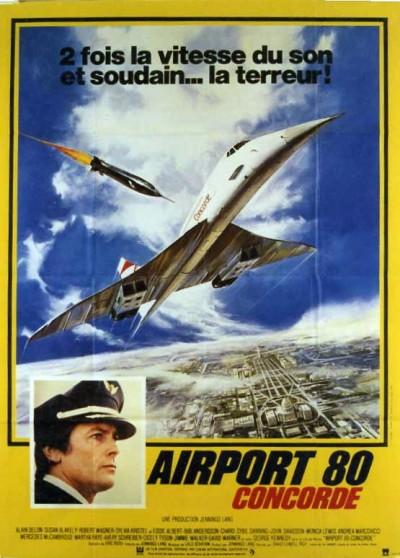 affiche du film AIRPORT 80 CONCORDE