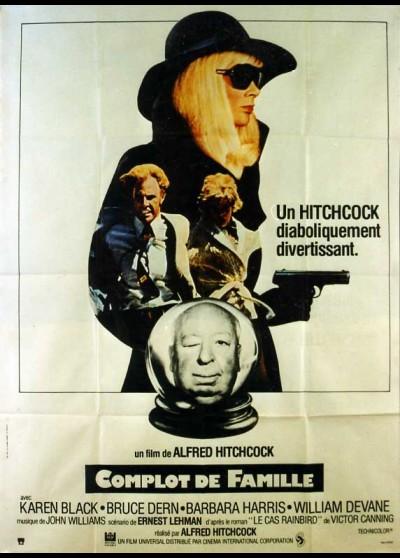 affiche du film COMPLOT DE FAMILLE
