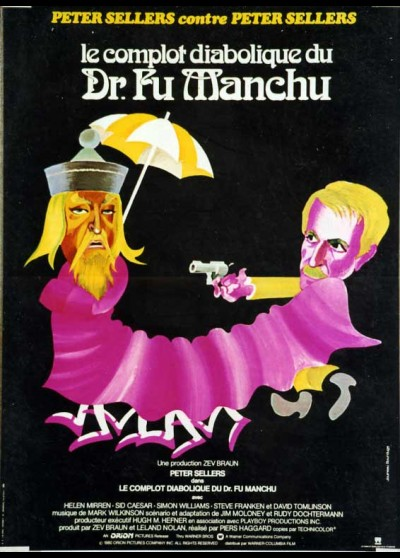 FIENDISH PLOT OF DOCTOR FU MANCH (THE) movie poster
