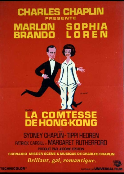 A COUNTESS FROM HONK KONG movie poster