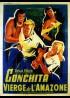 affiche du film CONCHITA VIERGE DE L'AMAZONE