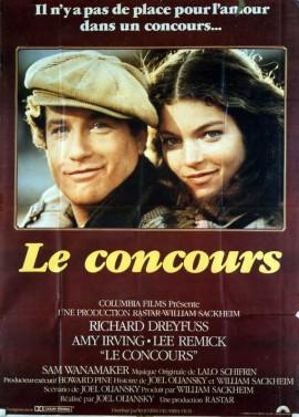affiche du film CONCOURS (LE)