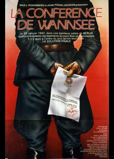 affiche du film CONFERENCE DE WANSEE (LA)