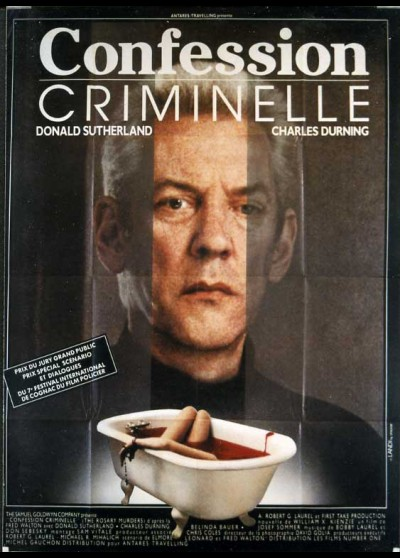 affiche du film CONFESSION CRIMINELLE