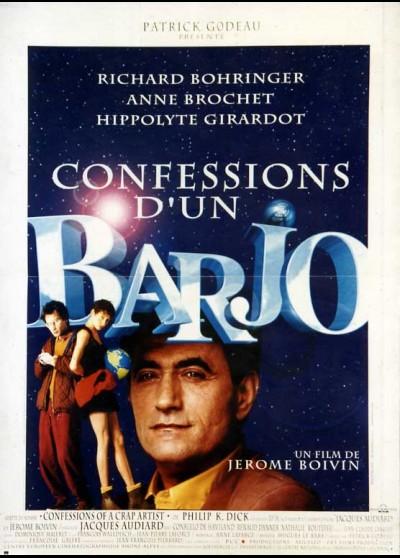 affiche du film CONFESSIONS D'UN BARJO