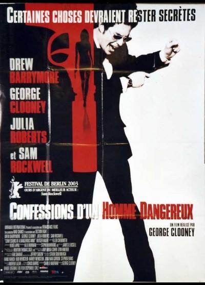 affiche du film CONFESSIONS D'UN HOMME DANGEREUX