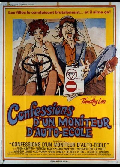 affiche du film CONFESSIONS D'UN MONITEUR AUTO ECOLE