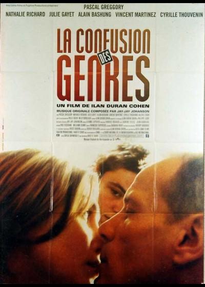 affiche du film CONFUSION DES GENRES (LA)
