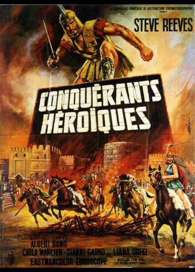 affiche du film CONQUERANTS HEROIQUES (LES)