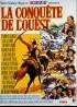 affiche du film CONQUETE DE L'OUEST (LA)