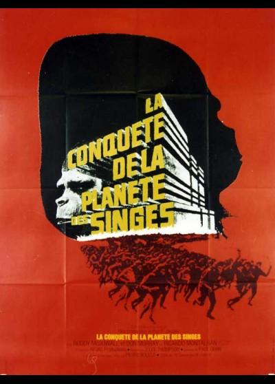 affiche du film CONQUETE DE LA PLANETE DES SINGES (LA)