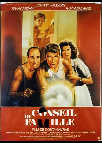 affiche du film CONSEIL DE FAMILLE