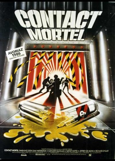 affiche du film CONTACT MORTEL
