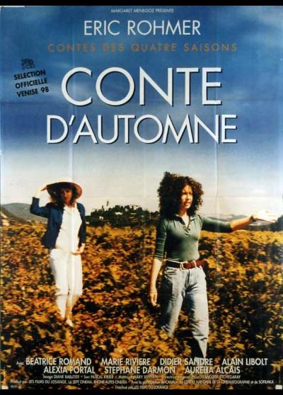 affiche du film CONTE D'AUTOMNE