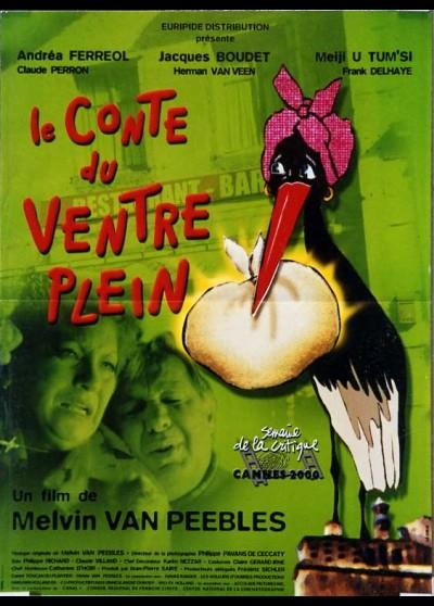 affiche du film CONTE DU VENTRE PLEIN (LE)