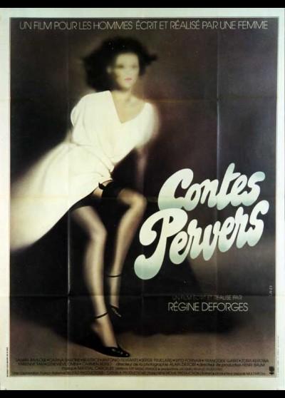 affiche du film CONTES PERVERS