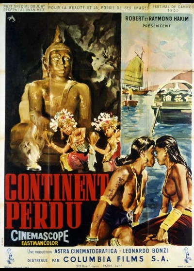 CONTINENTO PERDUTO movie poster
