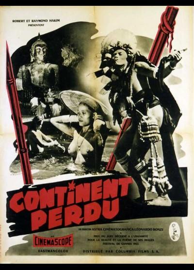 CONTINENTO PERDUTO movie poster
