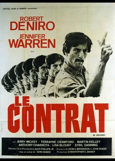 affiche du film CONTRAT (LE)