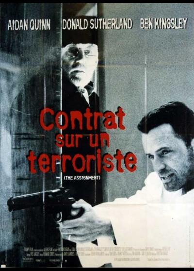 affiche du film CONTRAT SUR UN TERRORISTE