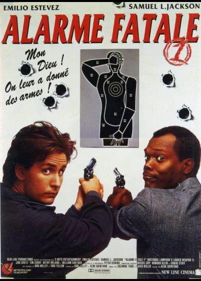 LOADED WEAPON 1 movie poster