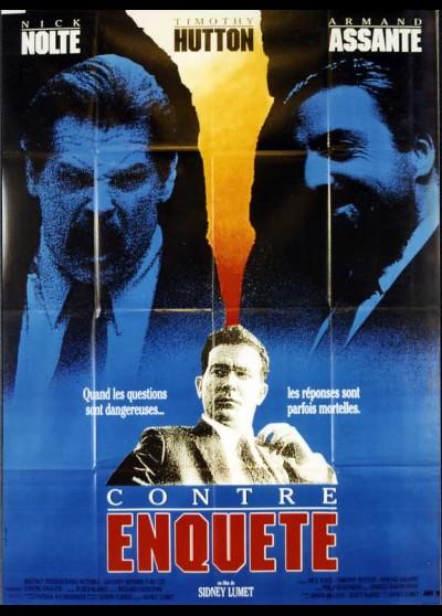affiche du film CONTRE ENQUETE