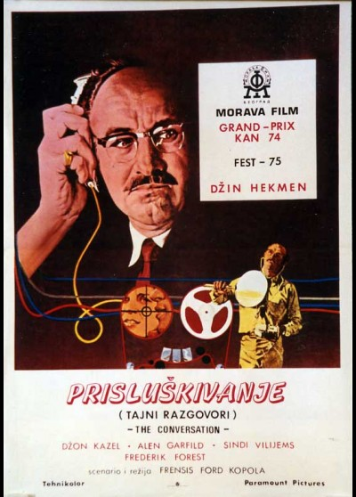 CONVERSATION (THE) movie poster