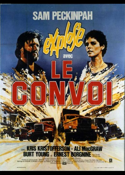 affiche du film CONVOI (LE)