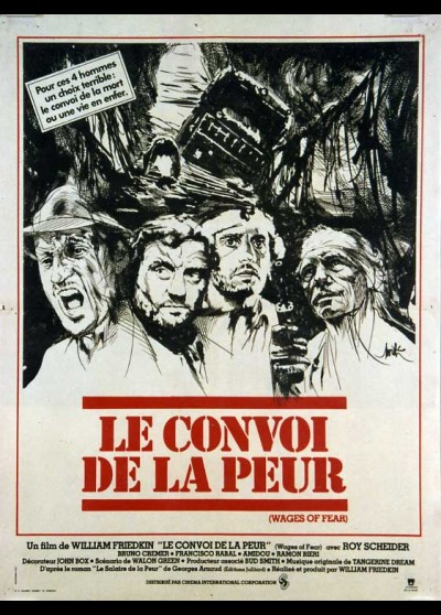 affiche du film CONVOI DE LA PEUR (LE)