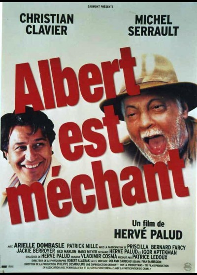 affiche du film ALBERT EST MECHANT