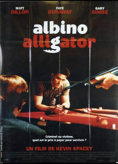 ALBINO ALLIGATOR movie poster