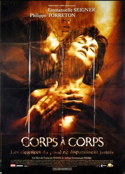 affiche du film CORPS A CORPS