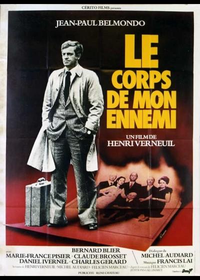 affiche du film CORPS DE MON ENNEMI (LE)