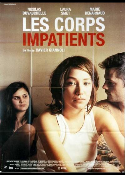 affiche du film CORPS IMPATIENTS (LES)