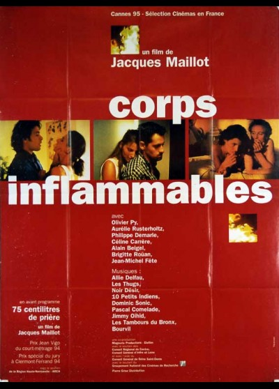 affiche du film CORPS INFLAMMABLES