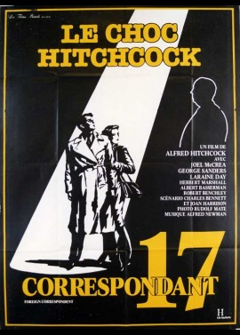 FOREIGN CORRESPONDENT movie poster