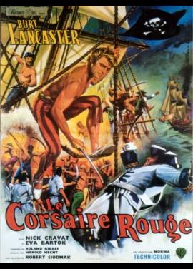 affiche du film CORSAIRE ROUGE (LE)