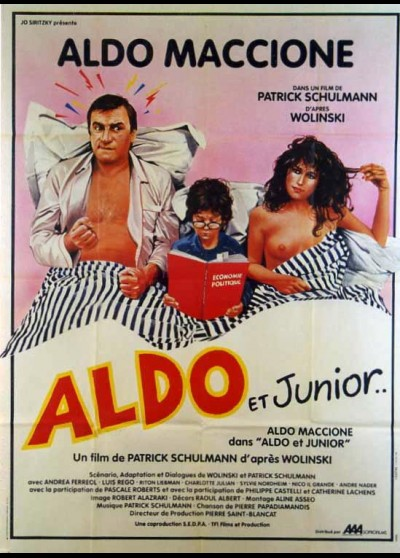 affiche du film ALDO ET JUNIOR