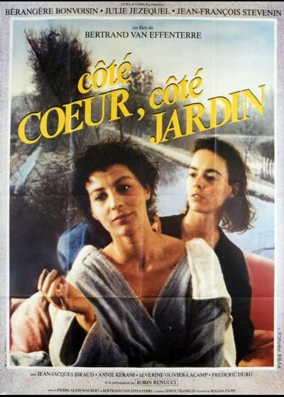 affiche du film COTE COEUR COTE JARDIN