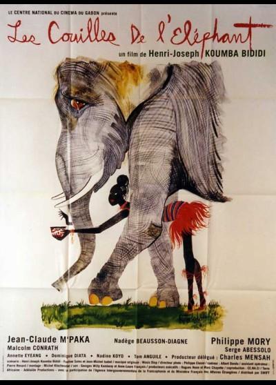 affiche du film COUILLES DE L'ELEPHANT (LES)