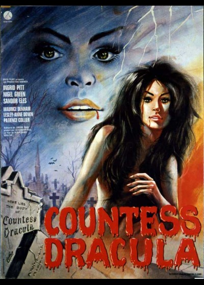 affiche du film COUNTESS DRACULA