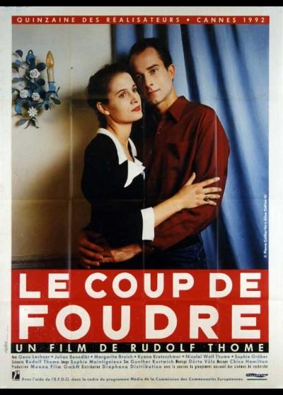 affiche du film COUP DE FOUDRE (LE)