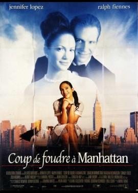 affiche du film COUP DE FOUDRE A MANHATTAN