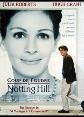 affiche du film COUP DE FOUDRE A NOTTING HILL