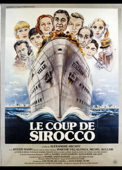 affiche du film COUP DE SIROCCO (LE)