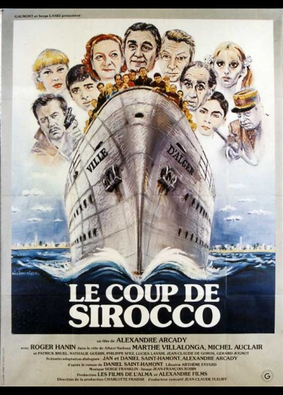 COUP DE SIROCCO (LE) movie poster